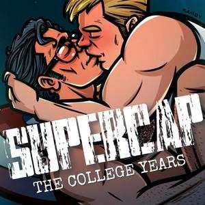 [Randy Meeks (randyslashtoons)] Supercap The College Years (Bonus CG) [Eng] – Gay Comics