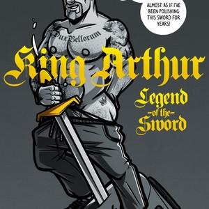 [Randy Meeks (randyslashtoons)] King Arthur Legend of the Sword [Eng] – Gay Comics