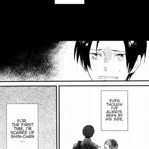 [Honeyamber] Shin-chan, I'm Scared – Kuroko no Basuke dj [Eng] – Gay Yaoi image 005