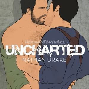 [HeadingSouth Art] Nathan Drake (Uncharted) – Gay Yaoi