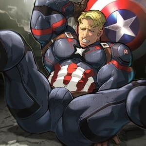 [Luxuris] Captain America – Gay Comics