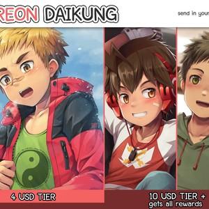 [Beater (daikung)] June 2018 Patreon Rewards – Gay Manga