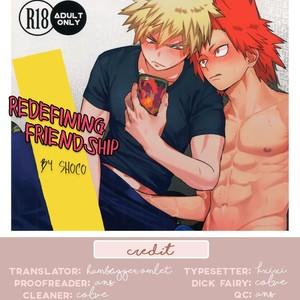 [SCO.LABO (shoco)] Yuujou Heni  | Redefining Friendship –  Boku no Hero Academia dj [Eng] – Gay Comics
