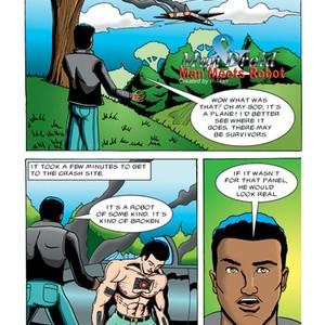 [R-man] Man & Droid [Eng] – Gay Manga