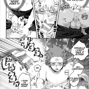 [AOAA] If you don't tell me, I'll become troubled (Tsutawannakute wa Komaru Nari) – Boku no Hero Academia [Eng] – Gay Manga image 009