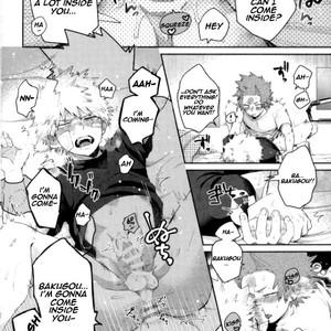 [AOAA] If you don't tell me, I'll become troubled (Tsutawannakute wa Komaru Nari) – Boku no Hero Academia [Eng] – Gay Manga image 017