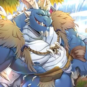 [Sollyz Sundyz] Bubba (Spyro) – Gay Manga