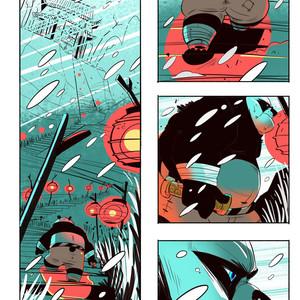 [Balmos] To Chain The Dragon – Kung Fu Panda dj [Eng] – Gay Manga image 002
