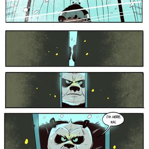 [Balmos] To Chain The Dragon – Kung Fu Panda dj [Eng] – Gay Manga image 003