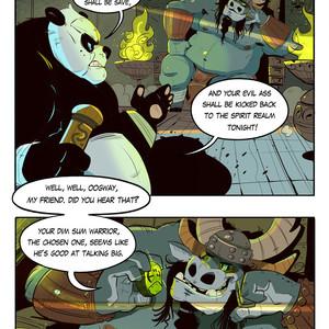 [Balmos] To Chain The Dragon – Kung Fu Panda dj [Eng] – Gay Manga image 004