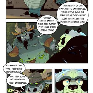 [Balmos] To Chain The Dragon – Kung Fu Panda dj [Eng] – Gay Manga image 006