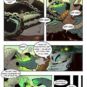 [Balmos] To Chain The Dragon – Kung Fu Panda dj [Eng] – Gay Manga image 010
