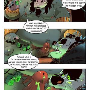 [Balmos] To Chain The Dragon – Kung Fu Panda dj [Eng] – Gay Manga image 014