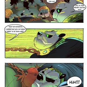 [Balmos] To Chain The Dragon – Kung Fu Panda dj [Eng] – Gay Manga image 015