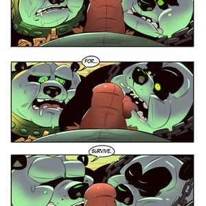 [Balmos] To Chain The Dragon – Kung Fu Panda dj [Eng] – Gay Manga image 016
