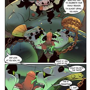 [Balmos] To Chain The Dragon – Kung Fu Panda dj [Eng] – Gay Manga image 017