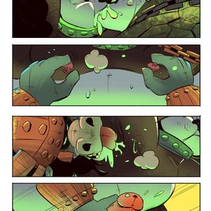[Balmos] To Chain The Dragon – Kung Fu Panda dj [Eng] – Gay Manga image 023