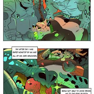 [Balmos] To Chain The Dragon – Kung Fu Panda dj [Eng] – Gay Manga image 028