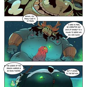[Balmos] To Chain The Dragon – Kung Fu Panda dj [Eng] – Gay Manga image 031