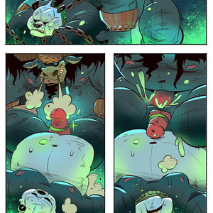 [Balmos] To Chain The Dragon – Kung Fu Panda dj [Eng] – Gay Manga image 032