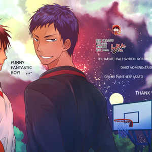 [COLOR PANTHER (Asato)] FUNNY FANTASTIC BOY! – Kuroko no Basuke dj [Eng] – Gay Manga