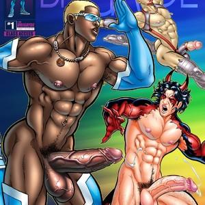 [David Cantero, Patrick Fillion] The Brigayde #1 [English] – Gay Manga image 001