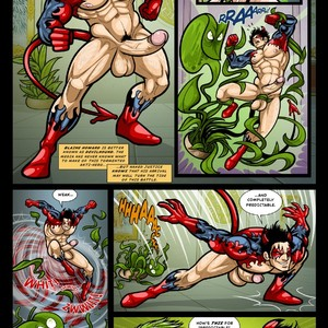 [David Cantero, Patrick Fillion] The Brigayde #1 [English] – Gay Manga image 009