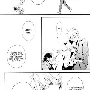 [inumog] Nakayoku Shimashou – Kuroko no Basuke dj [Eng] – Gay Manga image 027