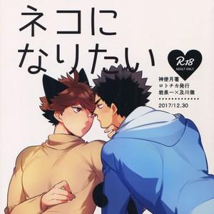 [Rototika (Kamishi Yue)] Iwachan no Neko ni Naritai Sairoku-Shuu – Haikyuu!! dj [JP] – Gay Manga