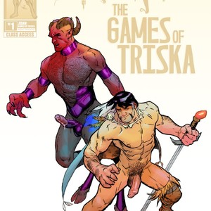 [Adam Graphite, Patrick Fillion] Zahn Games Of Triska [Eng] – Gay Yaoi