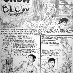 [Sean] Snow Blow [Eng] – Gay Yaoi