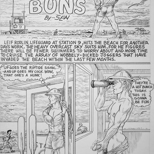 [Sean] Beach Buns [Eng] – Gay Yaoi