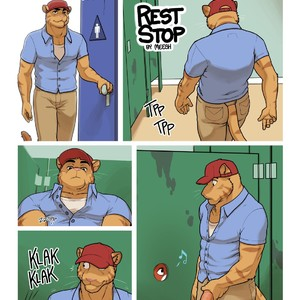 [Meesh] Rest Stop [Eng] – Gay Yaoi image 001