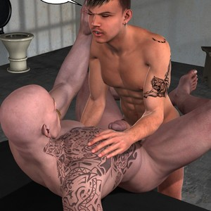 [Roger Dusky] Cellmates [Eng] – Gay Yaoi image 013