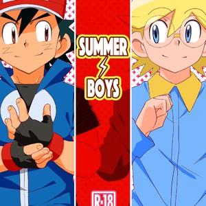 [10nin (West One)] Pokémon dj – Summer Boys [JP] – Gay Yaoi