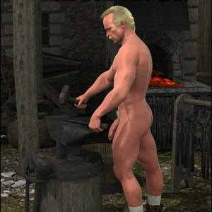 [Roger Dusky] The Blacksmith [Eng] – Gay Yaoi
