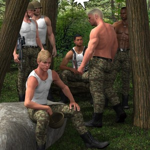 [Roger Dusky] Deep Jungle Drilling The Rookie [Eng] – Gay Yaoi image 002