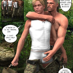 [Roger Dusky] Deep Jungle Drilling The Rookie [Eng] – Gay Yaoi image 006