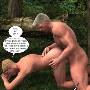 [Roger Dusky] Deep Jungle Drilling The Rookie [Eng] – Gay Yaoi image 015