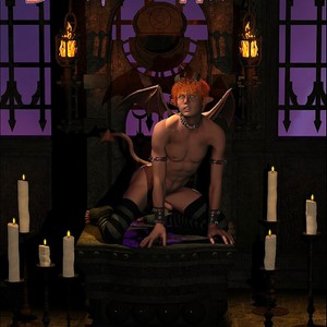 [Roger Dusky] Devil's Hassle [Eng] – Gay Yaoi