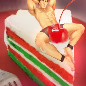 [thensfwfandom] Scott Lang – I Love This Frosting – Gay Yaoi