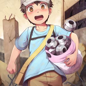 [Beater (daikung)] August 2018 Reward – Platelet-kun – Gay Yaoi image 001