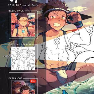 [AhrStudio] Rex (2018 October Pack) – Gay Comics