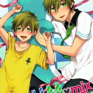 [American ☆ Rock (Kotarou)] HM♥mix – Free! dj [Portuguese] – Gay Comics