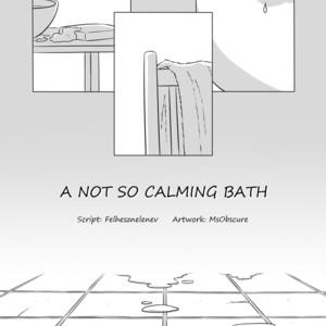 [MsObscure] A Not So Calming Bath – TMNT dj [Eng] – Gay Comics