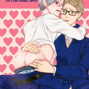 I'm a Bad Senpai, Sorry – Haikyuu!! dj [Eng] – Gay Comics image 001