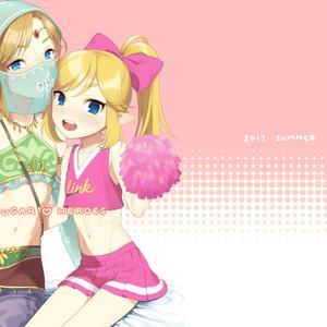 [broccoholic (MM)] Sugar Heroes – The Legend Of Zelda dj [Eng] (Uncensored) – Gay Comics