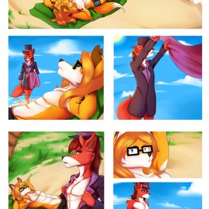 [RyderRiro] A Foxy Day at the Beach – Gay Comics