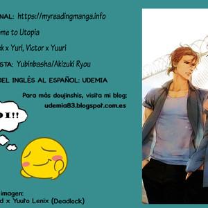 [Yubinbasya (AKIZUKI Ryou)] Yuri!!! on Ice dj – Welcome to Utopia [Español] – Gay Comics