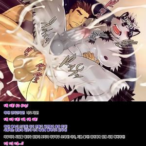 [MEN'S GJ (Tsuna Onigiri)] Horkeu Kamui to Hime Hajime – Tokyo Afterschool Summoners dj [kr] – Gay Comics image 015